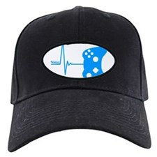 Gamers Heart Beat Baseball Hat