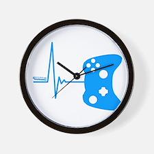 Gamers Heart Beat Wall Clock