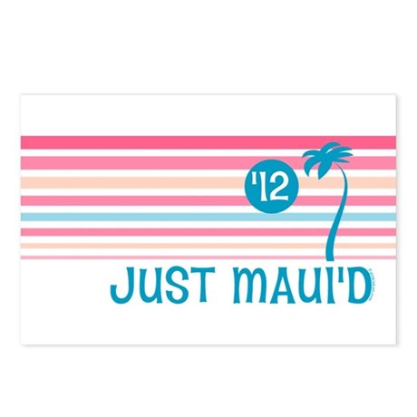 Stripe Just Maui'd '12 Postcards (Package of 8)