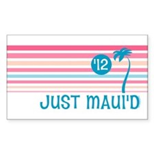 Stripe Just Maui'd '12 Decal