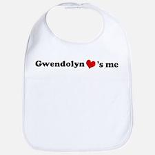 Gwendolyn loves me Bib