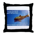 Divine Plan Throw Pillow