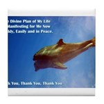 Divine Plan Tile Coaster