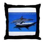 Deliver the Vibe Throw Pillow