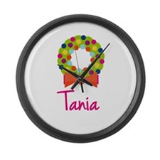 Christmas Wreath Tania Large Wall Clock