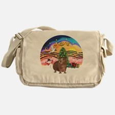 XmasMusic#2-GuineaPig#3 Messenger Bag