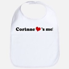 Corinne loves me Bib