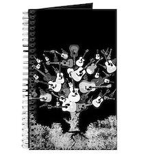 Acoustic Guitar Tree Journal