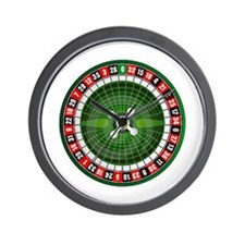 I'M ALL IN Wall Clock