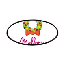 Christmas Wreath Mallory Patches