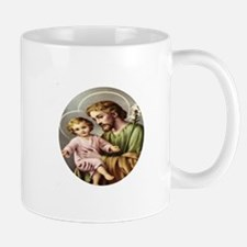 Saint Joseph and Child Jesus Mug
