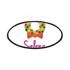 Christmas Wreath Selena Patches
