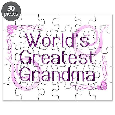 World's Greatest Grandma Puzzle