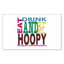 Hooper Be Hoopy Decal