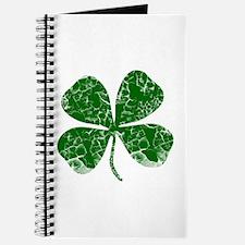 Vintage, Four Leaf Clover Journal