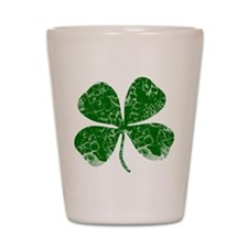 Vintage, Four Leaf Clover Shot Glass