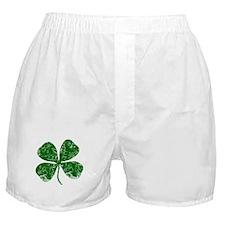 Vintage, Four Leaf Clover Boxer Shorts