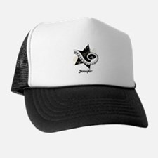 Music star gold black Trucker Hat