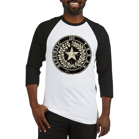 Republic of Texas Seal Distre Baseball Jersey