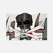 4x4 Evil Skull Rectangle Magnet (100 pack)