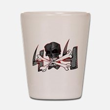 4x4 Evil Skull Shot Glass