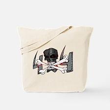 4x4 Evil Skull Tote Bag