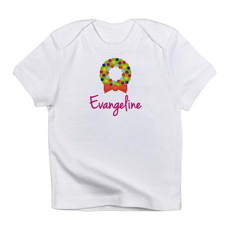 Christmas Wreath Evangeline Infant T-Shirt