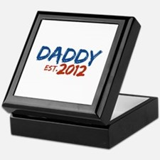 Daddy Est 2012 Keepsake Box