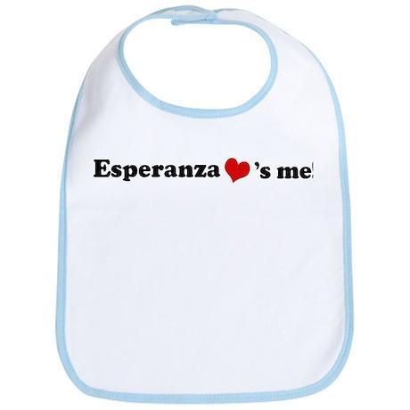 Esperanza loves me Bib
