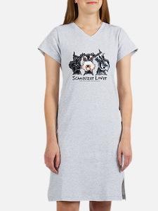 Miniature Schnauzer Lover Women's Nightshirt