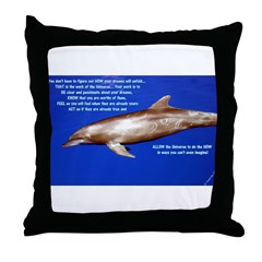 Be Know Feel Throw Pillow