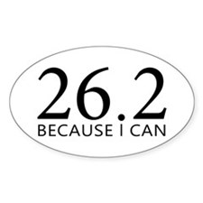 sticker-oval-26-because Decal