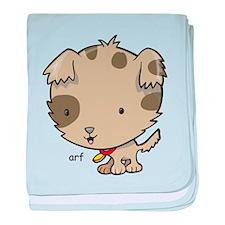 Sport says arf baby blanket