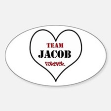 Team Jacob Sticker (Oval)