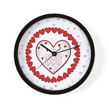 LovingHearts Wall Clock