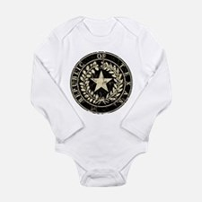 Republic of Texas Seal Distre Long Sleeve Infant B