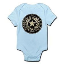 Republic of Texas Seal Distre Infant Bodysuit