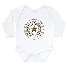 Republic of Texas Seal Distre Long Sleeve Infant B