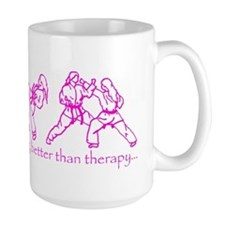 Sparring, better than therapy Mug