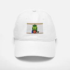 Personalized Basketball Green Baseball Baseball Cap