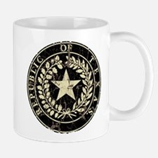 Republic of Texas Seal Distre Mug