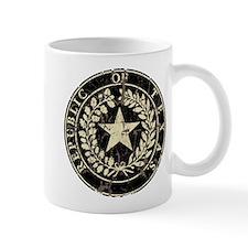 Republic of Texas Seal Distre Small Mug