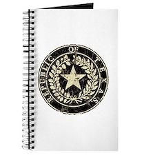 Republic of Texas Seal Distre Journal