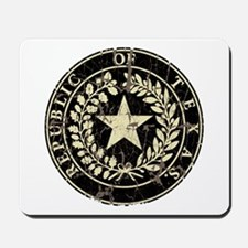 Republic of Texas Seal Distre Mousepad