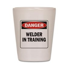 Welder Shot Glass