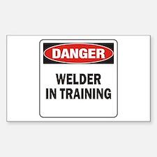 Welder Sticker (Rectangle)
