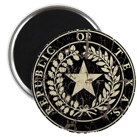 "Republic of Texas Seal Distre 2.25"" Magnet (10 pac"