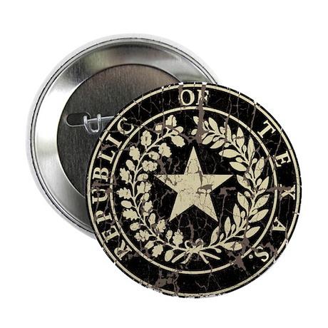 """Republic of Texas Seal Distre 2.25"""" Button (100 pa"""