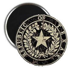 Republic of Texas Seal Distre Magnet