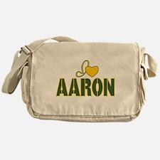 I love Aaron Messenger Bag